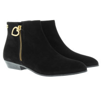 Boots & Booties - Camoscio Ankle Boot Nero