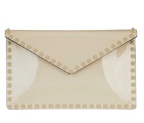 Clutch Large Flat Pouch Light Ivory