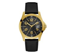 Uhren Mens Sport Genuine Leather Watch