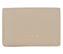 Portemonnaie Wallet Leather Beige