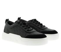 Sneakers LT Skyward Embossed Platform Bootie Black