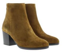 Silvia Crosta Ankle Boot Senape Schuhe