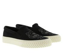 Schuhe Slip On Sneakers Black