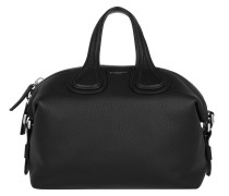 Nightingale Small Grained Tote Black