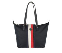 Poppy Tote Corp Stripe Navy