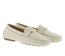 Loafers & Slippers - Carley Leather Loafer Light Ivory