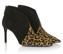 Boots & Booties - St. Leopard Ankle Boots