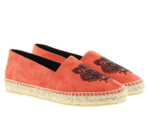 Espadrilles - Suede Tiger Espadrilles Medium Orange