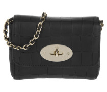 Tasche - Mini Lily Deep Embossed Croc Print Black