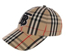 Caps Monogram Motif Vintage Check Baseball Cap Multi