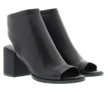 Ember Glazed Goat Booties Black Schuhe