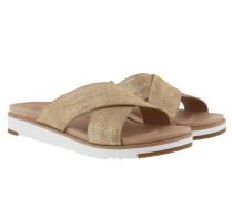 Kari Metallic Sandale Gold Sandalen gold
