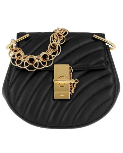 Drew Bijou Mini Leather Black Tasche