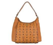 Hobo Bag Luisa Visetos Medium Leather Cognac