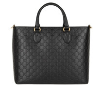 Tasche - GG Signature Calf Leather Tote Nero/Nero