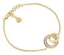 Armband Prato Due Bracelet White Zirconia