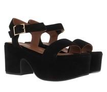 Sandalen & Sandaletten Wedge Sandals Calf Suede