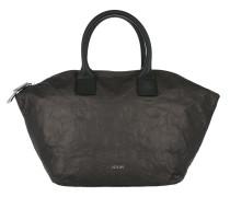 Venja Satin Handbag Dark Grey Tote