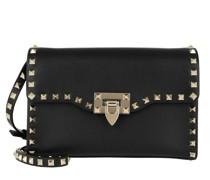 Crossbody Bags Rockstud Bag Small Leather Black