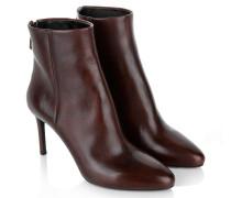 Boots & Booties - Stiletto Bootie Nappa Granato