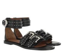 Sandalen Studded Sandals Leather Black