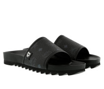 W Visetos Sandale Black Schuhe