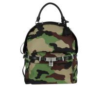 Backpack Camouflage Fantasia Olivia Scuro Rucksack