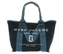 Small Logo Tote Bag Denim Blue
