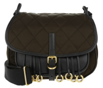 Corsaire Bag Calfskin/Nylon Marrone/Nero braun