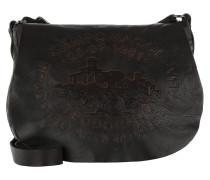 Bandoliera C/Stampa Bag In Rilievo Grigio