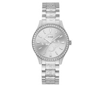 Uhr Women Quartz Watch Anna Silver