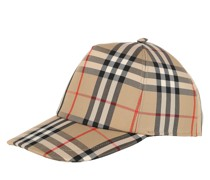 Caps Vintage Checked Baseball Cap Archive Beige