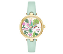 Hummingbird Holland Watch Mint/Rose Armbanduhr grün