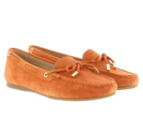 Loafers & Slippers - Sutton Moccasin Suede Orange