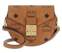 Umhängetasche Patricia Visetos New Round Wallet With Strap Cognac