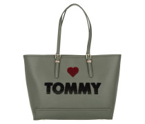 Honey EW Tote Embroidered Military