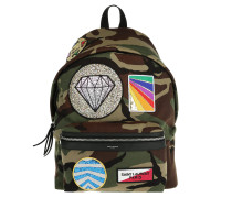 Hunt Backpack Cotton Gabardine Camouflage Rucksack grün