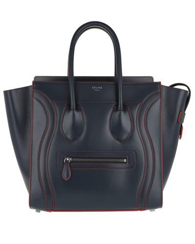 Big Bag Smooth Calfskin Blu/Navy Tote