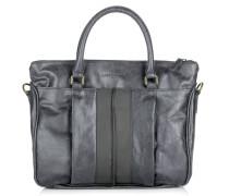 Tasche - Paula B Glossy Metallic French Grey