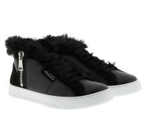Sneakers Lily Fur Zip Sneaker Black