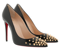 Spikeyshell 100 Pump Black/Gold Pumps