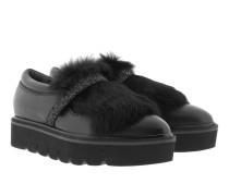 Loafers & Slippers - Union Plateau Slipper Indioc Gli Rabbit Black
