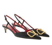 Pumps & High Heels V Slingback Leather