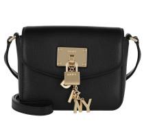 Elissa Small Flap Umhängetasche Bag Black