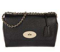 Tasche - Lily Medium Glossy Goat Crossbody Bag Black