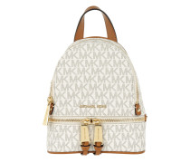 Rucksack Rhea Zip Messenger Backpack Vanilla