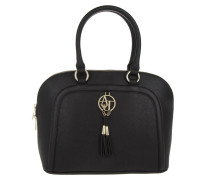 Tasche - Bugatti Top Handle Tassle Bag Nero