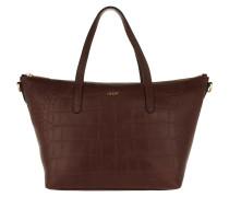 Helena Croco Soft Handbag Bown Tote