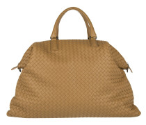 Tasche - Convertible Intercciato Shopping Bag Maxi Camel