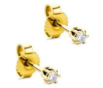 Ohrringe 14KT Diamond Earrings